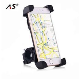 360 Rotativo Anti-Slip Universal Suporte de Telefone Da Bicicleta Da Bicicleta Guiador Grampo Suporte de Montagem Suporte para Celular Inteligente Móvel em Promoção