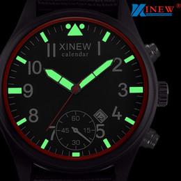 Stainless Watch Army Australia - Man Watch 2019 XINEW Watch Men Analog Quartz Army Sport Watches Luminous Wristwatch Stainless Steel mannen horloge