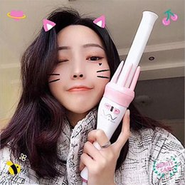Hair Tourmaline Australia - Fashion Rapid Fast Automatic Rolling Rotation Curling Hair Curler Easy Salon Tools Tourmaline Ceramics Quick Curly Curlers by goodface