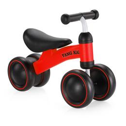 Bicicleta de equilibrio para bebés Aprenda a caminar Obtenga sentido del equilibrio Juguetes para montar sin pedal para niños Bebés y niños pequeños 1-3 años en venta