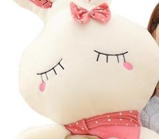 Chinese  Plush toy doll love beauty rabbit fruit rabbit female birthday gift feel comfortable manufacturers