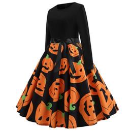 Wholesale long dresses xxl size for sale – plus size Womens Plus Size Casual Boho Sundress Long Sleeve Dresses