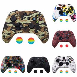 xbox joypad UK - uXIcG Silicone Gel Soft Protective Shell 360 Cover Case For Microsoft Xbox Joypad xbox360 Controller Body Protector Skin Gamepad