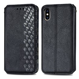note cube 2020 - 3D Square Leather Wallet Case For Iphone 12 11 Pro XR XS MAX 8 7 6 SE 2020 Cube Sparkle Suck Magnetic Closure Holder Sta