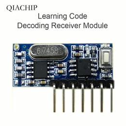 $enCountryForm.capitalKeyWord Australia - 433mhz RF Receiver Learning Code Decoder Module 433 mhz Wireless 4 Channel output Diy kit For Remote Control 1527 encoding