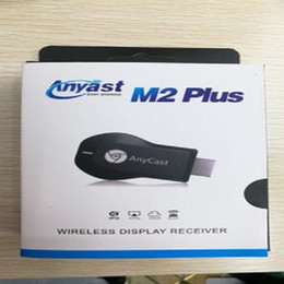 Anycast TV Stick Receiver M2 M4 M9 Plus Android Push Treasure Airplay Miracast 2.4G 1080P HD TV Plug MiraScreen Wireless HDMI Dongle on Sale