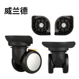 Discount spinner accessories - Trolley Luggage Wheels Accessories Caster Universal Makeup trolley luggage universal spinner wheel factory direct sales