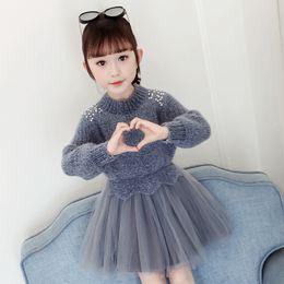 Linda New Christens Dresses Baby Kids Abbigliamento Black With White Stripe Black / Copper VTWO Free DhlemSaramex Spedizione per due in Offerta
