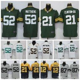 Mens Green Bay Packers Jersey 12 Aaron Rodgers 87 Nelson 23 Jaire Alexander  80 Jimmy Graham 52 Clay Matthews 37 Josh Jackson Jerseys 8e96831ec