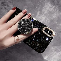 $enCountryForm.capitalKeyWord Australia - Wholesale Luxury Blingbling Diamond Phone Holder cases For iPhone 6 6SP 8 Plus 7Plus X XS MAX XR Phone Case Glitter stars Capa Funds