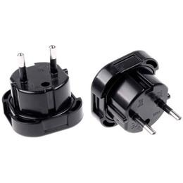 $enCountryForm.capitalKeyWord UK - uk to eu New Universal Travel UK to EU Euro Plug AC Power Charger Adapter Converter Socket Black Power Plug Adaptor Connector