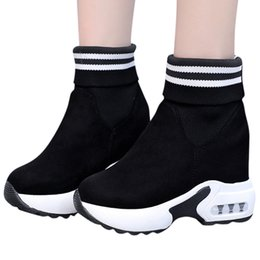 $enCountryForm.capitalKeyWord Australia - Boots Women Shoes Platform Boots bota feminina New Fashion Booties Gothic Winter Ankle For Women Solid Black Punk Botas