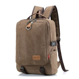 Chinese  Cross-border foreign trade vintage rucksack bag Ms. outdoor travel large-capacity backpack male student computer bag manufacturers