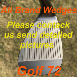 2020 New golf wedges OEM quality All Brand Wedges Black Silver Grey colors 48 50 52 54 56 58 60 62 3pcs lot golf clubs on Sale