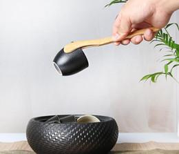 Ingrosso Legno Tea Tweezer Bacone Tea clip Pinze Bamboo Kitchen Insalata di Toast 18 centimetri
