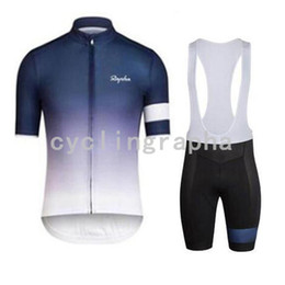 $enCountryForm.capitalKeyWord Australia - RAPHA 2019 USA Summer Quick Dry Cycling Jersey Pro Team Short Sleeve Bicycle Clothing Bike wear Breathable Cycling Clothing and bib shorts