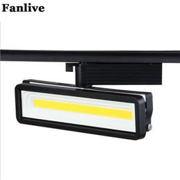 $enCountryForm.capitalKeyWord NZ - Fanlive 4PCS COB 50W LED Tracking Light Track Lamp For Clothing Store Shop Track Rail Light AC220V
