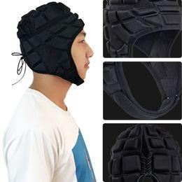Helmet summer online shopping - Black Collision Avoidance Safety Hat Armor Sponge Men And Women Universal Football Goalkeeper Helmet Outdoor Motion Fashion Cap tw I1