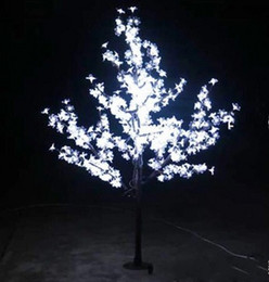 Discount led indoor cherry tree lighting LED Christmas Light Cherry Blossom Tree 480pcs LED Bulbs 1.5m 5ft Height Indoor or Outdoor Use Free Shipping