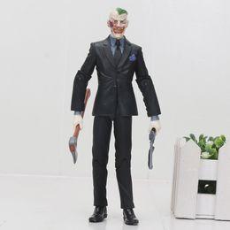 """China Super Hero Batman The Joker Jack Napier Arkham Asylum PVC Action Figure Collection Model Toy 6"""" 14cm cheap jack action figure suppliers"""