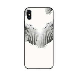 $enCountryForm.capitalKeyWord NZ - GV Designer Phone Case for Iphone 6 6s,6p 6sp,7 8 7p 8p X XS,XRXSMax Fashion Wing Print Luxury Back Cover Hot Sale Black and White Available