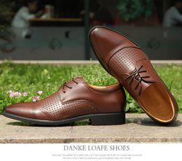 $enCountryForm.capitalKeyWord Australia - 2019 New Design Gradine Color Wingtip Formal Shoes Men Pointed Toe Casual Wedding Party Liesure Dress Shoes Plus Size 37-48