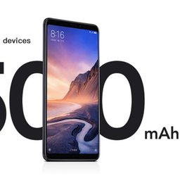 phone 5mp 2019 - Wholesales Original Xiaomi Mi Max 3 4 6GB RAM 64 128GB ROM Max3 Mobile Phone Snapdragon 636 Octa Core OTA 5500mAh 6.9&qu