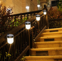 $enCountryForm.capitalKeyWord Australia - Best Price Smuxi LED Solar Light 6LEDs Waterproof IP65 Outdoor Solar Wall Light Street Garden Pathway LED Stair Deck LLFA