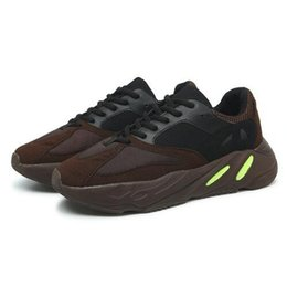China 700 Wave Runner KAWS Kanye West 2019 New Mens Designer Sports Running Shoes for Men Sneakers Women Luxury Brand Running Trainers cheap sport runner shoes suppliers