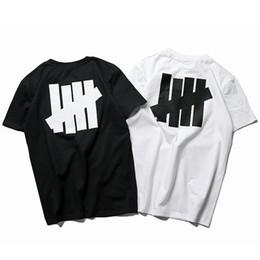 Hot Bar UK - 19ss designer men T-shirt Japan brand summer t-shirt five bars printing pictures short-sleeved hot t-shirts hip-hop rock tees