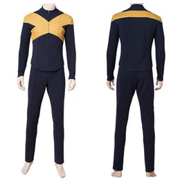 Phoenix Costume X Men Movie UK - 2019 X Man Dark Phoenix Jean Grey Cosplay Costume Jacket Pants Uniform Outfit Suit For Women Girl Men Boy Halloween Carnival Trendy Clothing