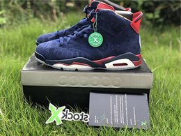 Branded Designer Shoes For Men Australia - with Box 2018 Mens Basketball Shoes Sneakers 6s Doernbecher Blue for Men Brand Designer Athletics Sports Shoes Size US7-13