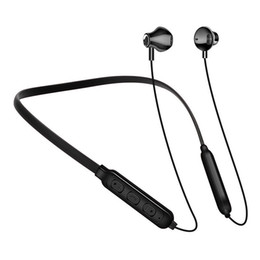s9 sport neckband bluetooth headphone headset Australia - Bluetooth 5.0 Earphones Headset Sport Neckband Wireless Headphone for iPhone 8 Plus Samsung S9 S10 Huawei P0 Pro