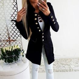$enCountryForm.capitalKeyWord NZ - 2019 New Arrival Women's Slim Fit Blazer Women Fashion Simple Office Lady Lapel Suit Coat Long-Sleeve Jacket Button Coat