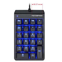 $enCountryForm.capitalKeyWord NZ - Motospeed Red Switch Mechanical Numeric Keypad USB 22keys Mini Numpad for Laptop Numerical Key Pad Wired LED Backlit Keyboard