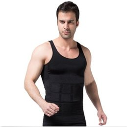 $enCountryForm.capitalKeyWord UK - Fashion Mens belly belt Powerful Slimming Abdomen vest Body Shaper Sculpting Compression Girdle Belley Buster Shapewear Underwear vest S-2XL