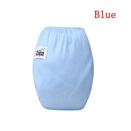 Infants Diaper Panties Australia - Cloth diapers baby newborn Infants baby washable reusable real cloth diaper girls Panties Nappy boys toilet training pants
