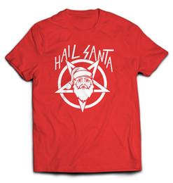 $enCountryForm.capitalKeyWord UK - HAIL SANTA T-shirt Christmas Metal Funny tee vintage hipster xmas holidayFunny free shipping Unisex Casual Tshirt top