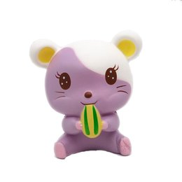 Toy Squirrels Australia - 2019 Decompression Squishies Cute Purple Squirrel Slow Rising Scented Squeeze Relieve Stress Toy squishy smooshy mushy toys for children