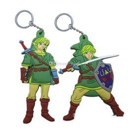 $enCountryForm.capitalKeyWord Australia - New Arrivals! 20pcs The Legend Of Zelda Keychain Character Pvc Figures Key Chains Toy Kids Gift Christmas Gifts Legend Of Zelda