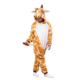 Custom made Catsuit online shopping - 2019 New style children Role play kangaroo The giraffe clothing Siamese clothes QQT146