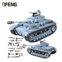 police set toys Australia - Military German Tank Building Blocks Compatible Army WW2 City Soldier Police Figures Weapon Bricks Sets Boys Toys Gifts