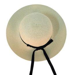 $enCountryForm.capitalKeyWord Australia - Beach Hat Gorras Summer Hats For Women Straw Hat Caps Visor Floppy Muts Sombrero Mujer Chapeu Verano Sun Visor Holiday Style