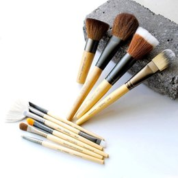 $enCountryForm.capitalKeyWord Australia - JI-Series Jane Natural Wood Makeup Brush Then Handi DOME Blending Blush Sculpting Deluxe Spoolie Angled Liner Camouflage 10 Beauty Tool