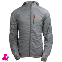 60958de962cf 2019 Outdoor Running Jacket camping Man Windbreaker Quick Dry Fishing Anti-UV  Clothing Climbing Ultra-thin Skin Coat Sunscreen