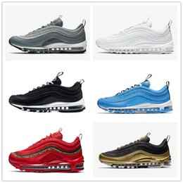 Metal Sneakers Australia - 2019 new men's running shoes metal gold yellow three-layer white designer women's sneakers, breathable fashion casual outdoor shoes10