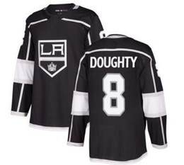 Discount kings jersey - Los Angeles Kings #8 DOUGHTY Black Home Athletic Stitched Jersey,men White Road 11 KOPITAR 77 CARTER 99 Gretzky Hockey J