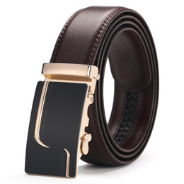 $enCountryForm.capitalKeyWord UK - Fashion Designer Belts Mans Womans Waistbands Trousers Shorts Belt Genuine Leather Waist Straps Luxury Automatic Buckle Jeans Belt