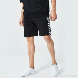 Flattering Clothes For Plus Size Australia - Summer New Sports Shorts For Men Clothing Casual Loose Half Knee Length Shorts Plaids Design Thin Plus Size Clothes
