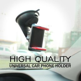 Wholesale Newly Universal Car Phone holder for Mobile phone holder windshield mount Cell phone holder Smartphone stand Car holders EEA121